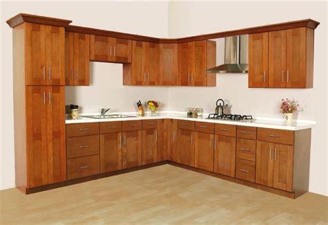 Cinnamon Shaker Kitchen Cabinets
