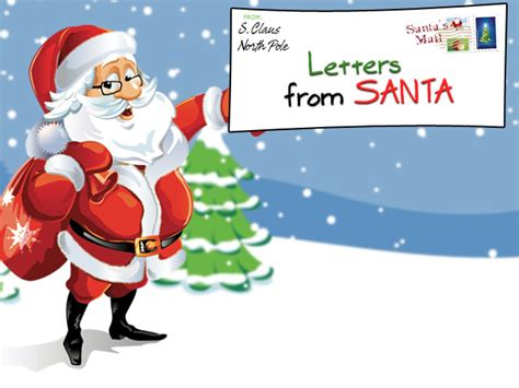 easy  letters  santa claus  children