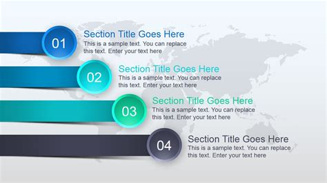 Elegant Global Powerpoint Template Slidemodel