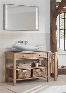 Mobili o console per lavabo classici country o romantici for Meuble salle de bain cottage