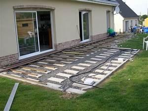 nivremcom monter une terrasse en bois sur de la terre With comment monter une terrasse en bois