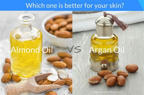 Argan Oil Vs Almond Oil For Skin