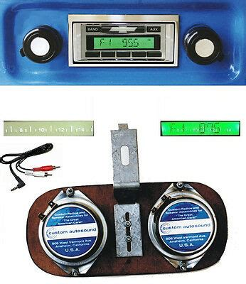 chevy truck radio  dash speaker aux cable  ac truck stereo