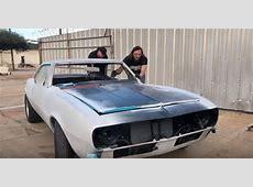 Watch 'SkidMarks Show' host Jeff Allen restore 1967 Camaro