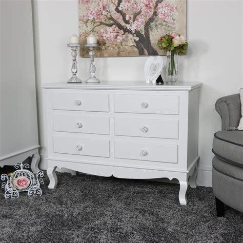 white 6 drawer dresser large ornate white 6 drawer chest of drawers lila range