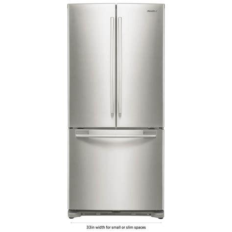 samsung 33 in w 17 5 cu ft french door refrigerator in