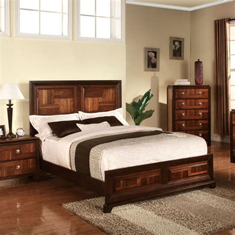 cherry finish bedroom furniture dreamfurniture cleveland cherry finish bedroom set