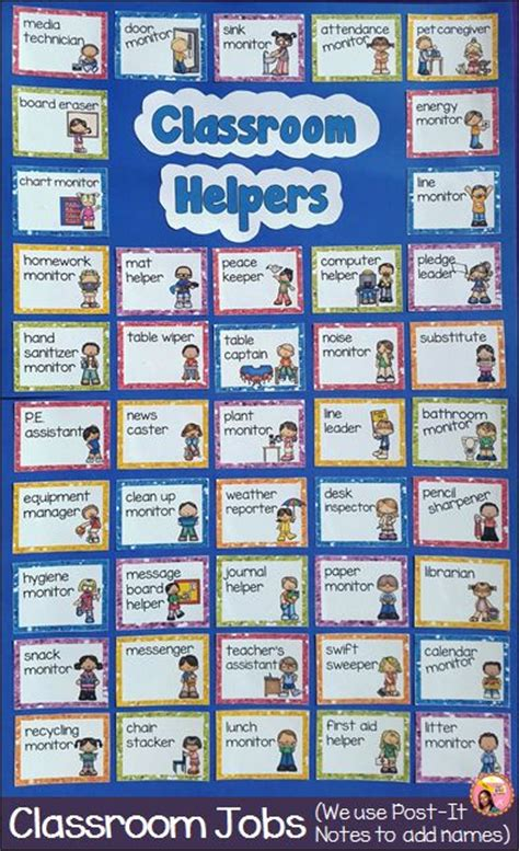 preschool helper jobs best 25 classroom helpers ideas on classroom 635