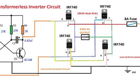simple inverter wiring diagram wiring library