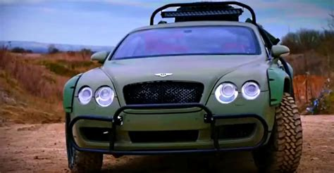 Bentley Continental Modification by Bentley Continental Gt Roading Modification Genius Or