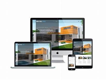 Estate Template Joomla Templates Website Homes Rent