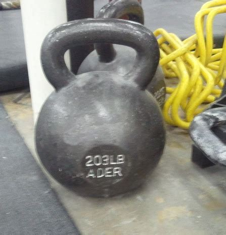 kettlebell lb heavy things kettlebells 200lb few