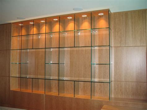 Modern Glass Wall Shelves Decorative Custom Home Large