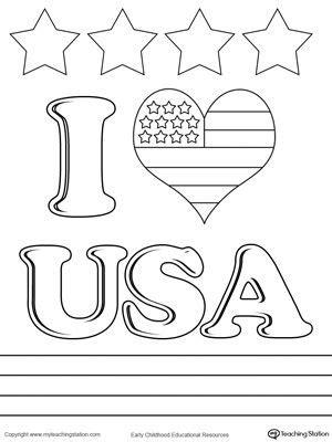 love usa coloring page drawing coloring worksheets