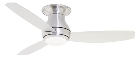 modern flush mount ceiling fan emerson cf152 52 quot curva sky modern contemporary flush
