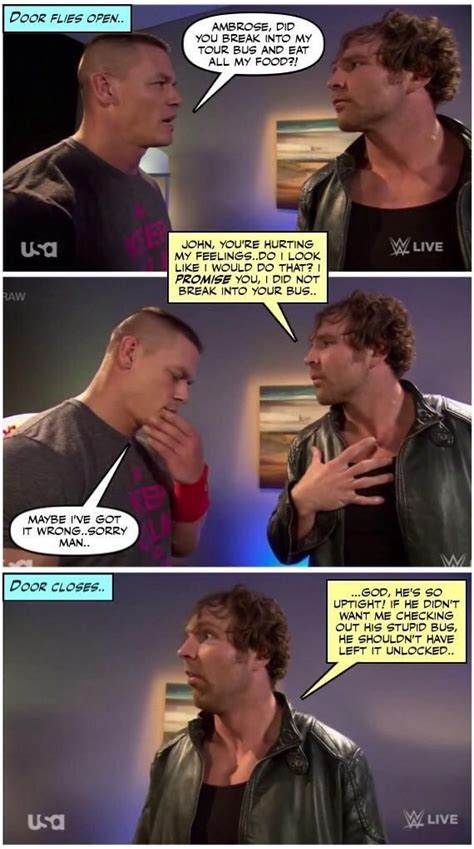 Funny Wwe Memes - dean ambrose is the funniest bestest wrestler ever dean ambrose pinterest dean
