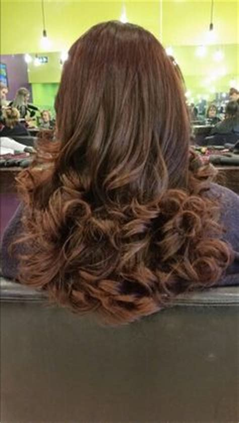 curly blowdry created     trainees curly