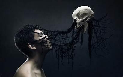 Gothic Skull Wallpapers Skulls Death Fantasy Desktop