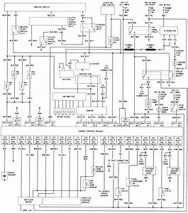 1991 Toyota Pickup 22re Wiring Diagram