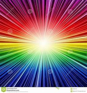 Abstract, Rainbow, Striped, Burst, Background, Royalty, Free