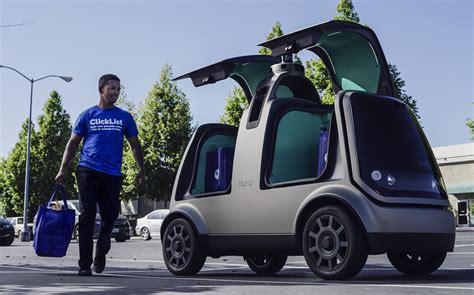 kroger begins autonomous grocery delivery trial  arizona