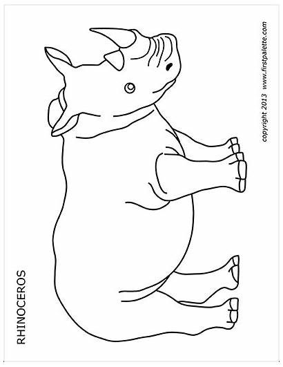 Printables Printable Firstpalette Animal Coloring Templates Pages