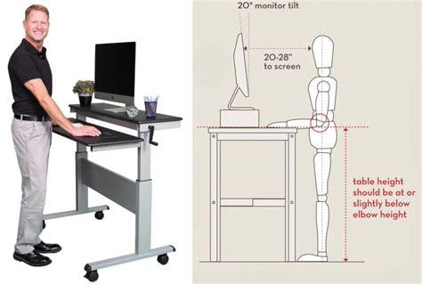 office desk standing desk starter guide techspot