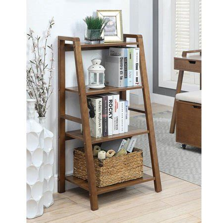 Small Office Bookcase by Charles Small Office Bookcase Walnut Walmart