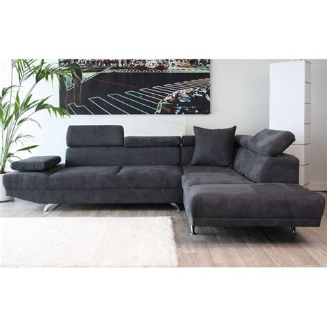 canapé d angle convertible gris anthracite canape d angle gris anthracite sedgu com