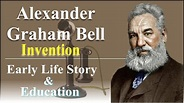 Story of Alexander Graham Bell / famous Scientist ...