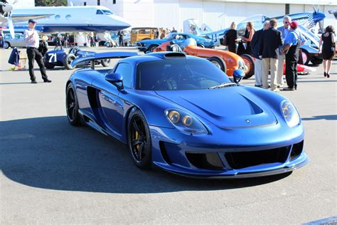 porsche gemballa gemballa has two porsche carrera gt based mirage gts left