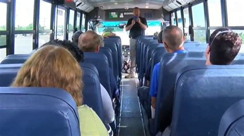 wham training bus drivers with gates chili school district go through