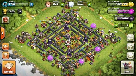 clash of clans best th10 farming base 2015 clash of clans builder best town 10 layouts clas