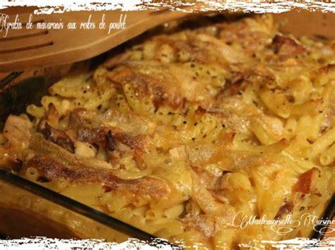 cuisiner des restes de poulet recettes de restes de poulet