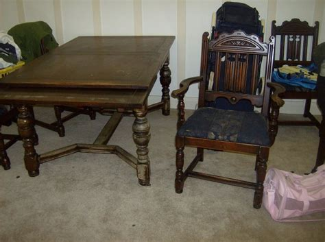 antique dining room table and chairs for antique dining table and chairs marceladick 9881