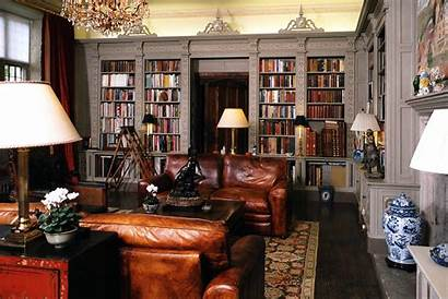 Library Victorian English Furniture Libraries Apartment Study