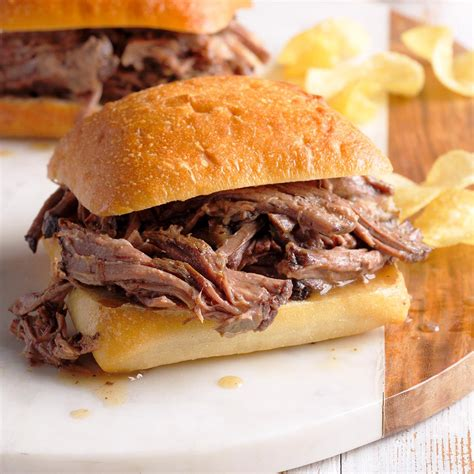 savory beef sandwiches recipe taste  home