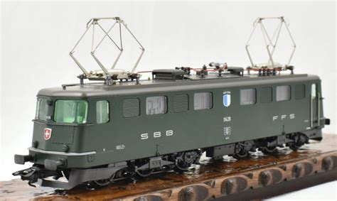 m 228 rklin h0 37366 electric locomotive ae 6 6 sbb