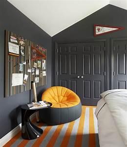 Dark Gray Wall Color Design Ideas