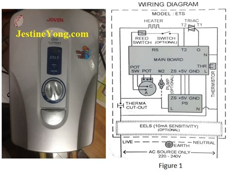 joven water heater wiring diagram useful bulb testing method to solve household instant