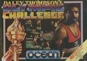 Daley Thompson's Olympic Challenge (1988) Amiga box cover ...