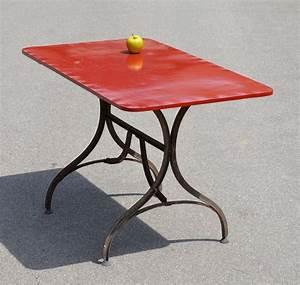 Table De Jardin En Fer : mobilier de jardin ancien vendu ~ Teatrodelosmanantiales.com Idées de Décoration