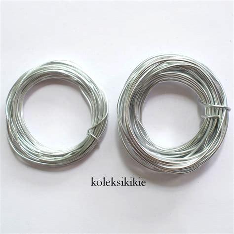 Kawat Wire Silver set kawat alumunium silver