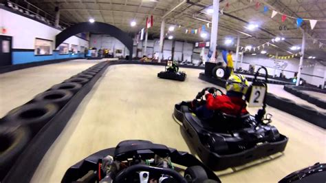 Racing At Maine Indoor Karting (track 1, 2013)