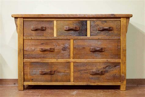 Rustic Bedroom Dressers  Modern Cabin Decor From New West