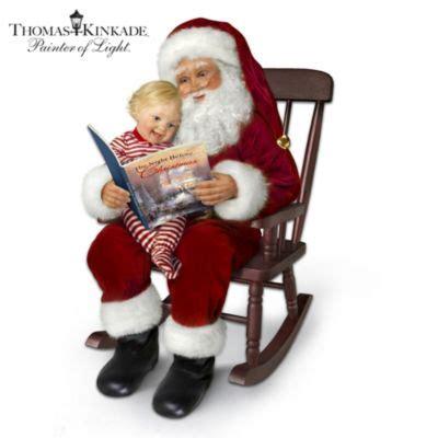 thomas kinkade  night  christmas story telling