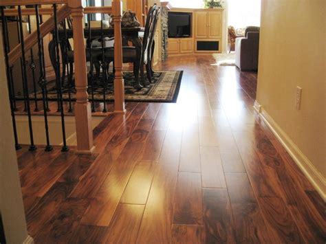Solid Acacia Smooth Plank Prefinished
