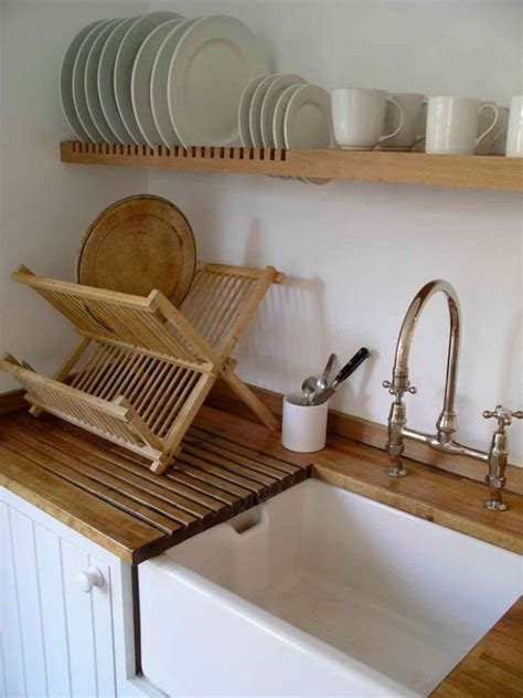 drip dry  kitchens  wall mounted dish racks remodelista