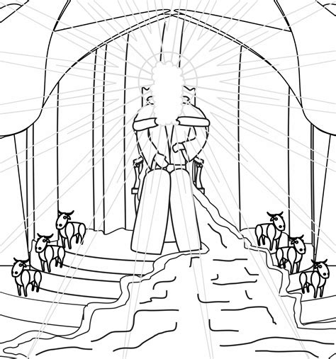Balaam And The Talking Donkey Coloring Pages Isaiah