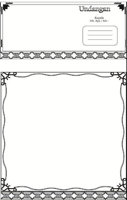 gambar format undangan walimatul ursy lengkap